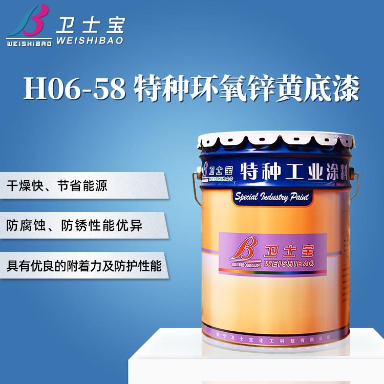 H06-58特种环氧锌黄底漆
